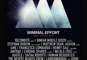 Minimal Effort – 31st Oct 2017